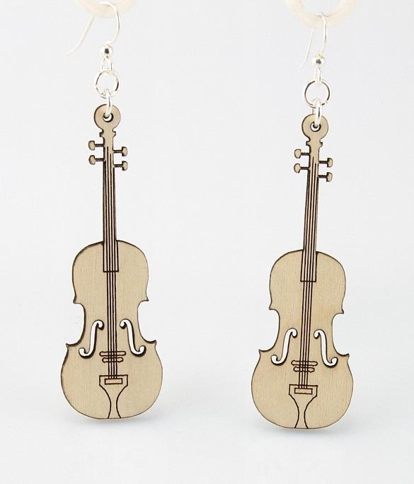 Violin Earrings -0