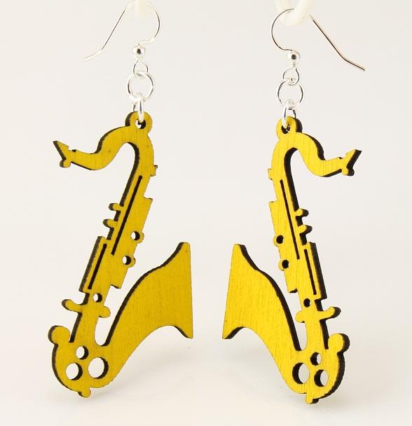 Saxophone Earrings -0