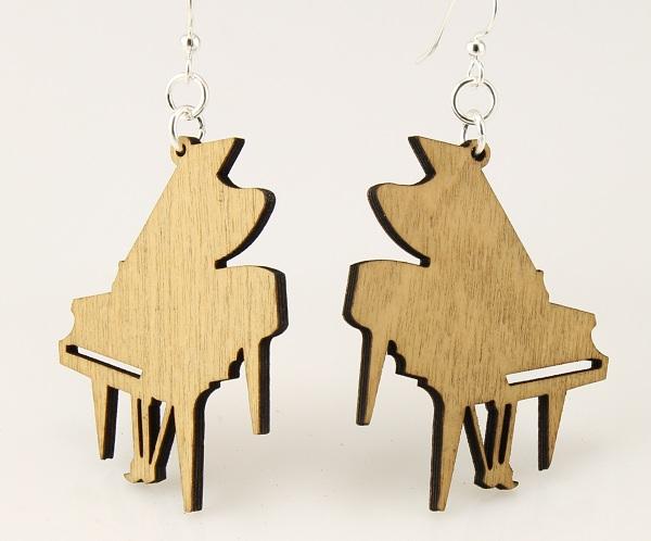 Grand Piano Earrings -0