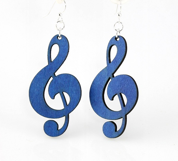 Treble Clefs Earrings -0