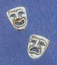 Comedy/Tragedy Earrings-4528