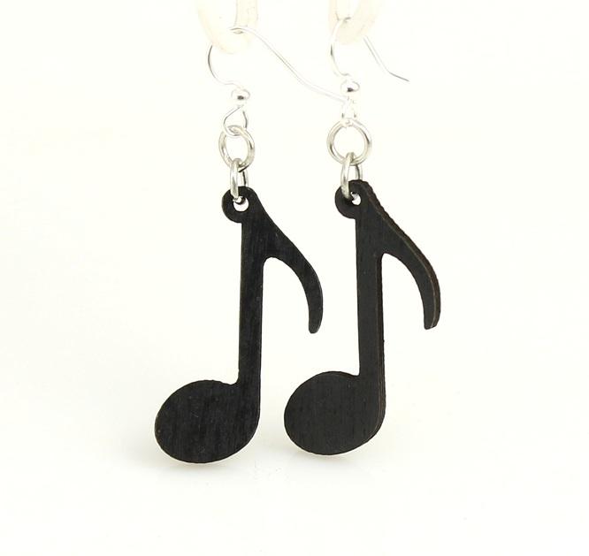 Music Note Earrings -0