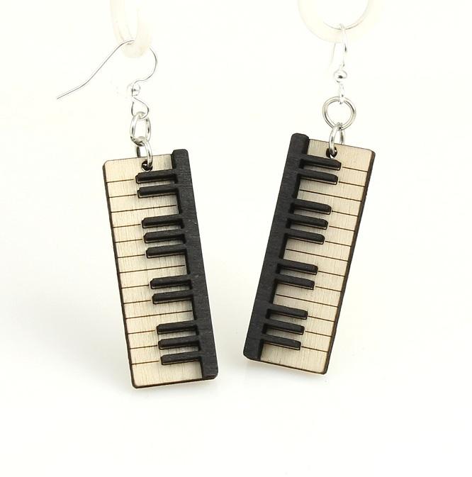 Piano Key Earrings -0