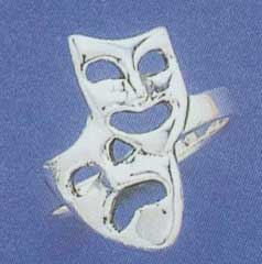 Comedy/Tragedy Ring-4531