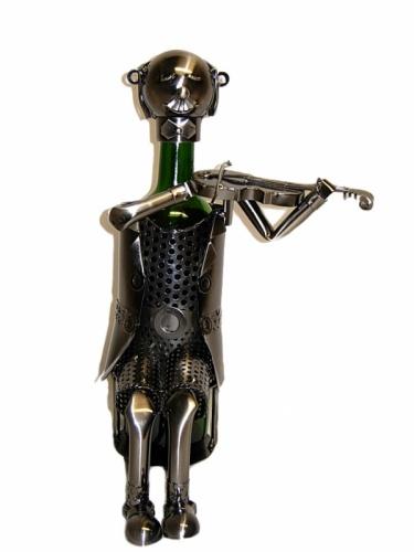 Violinist Wine Bottle Holder-0