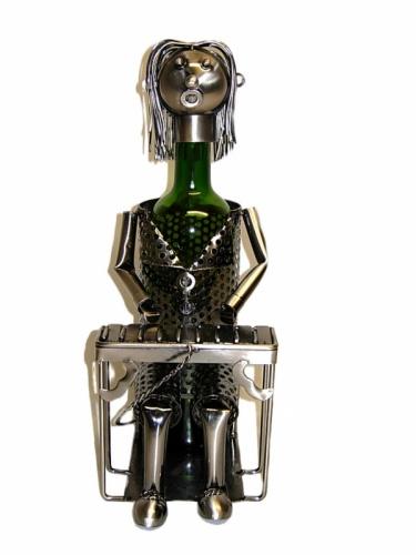 Pianist Wine Bottle Holder-0
