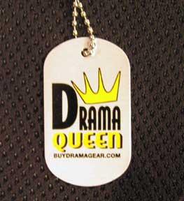 Drama Queen Dog Tag-0