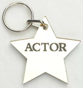 Actor ~ Star Keychain-0