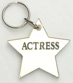 Actress ~ Star Keychain-0