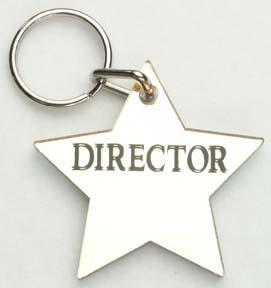 Director ~ Star Keychain-0