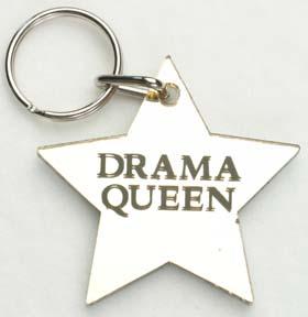 Drama Queen ~ Star Keychain-0