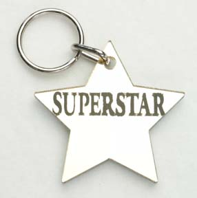 Superstar ~ Star Keychain-0