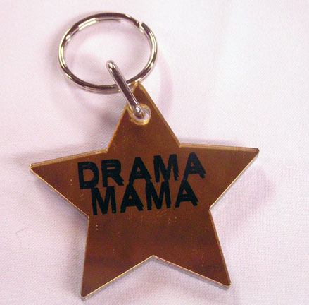Drama Mama ~ Star Keychain-0