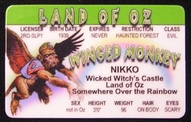 Land of Oz ID - Monkey-0