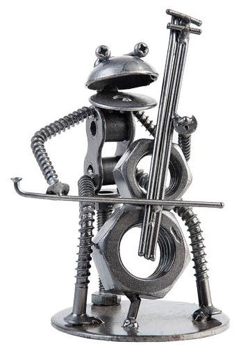 Metal Frog Cellist -0