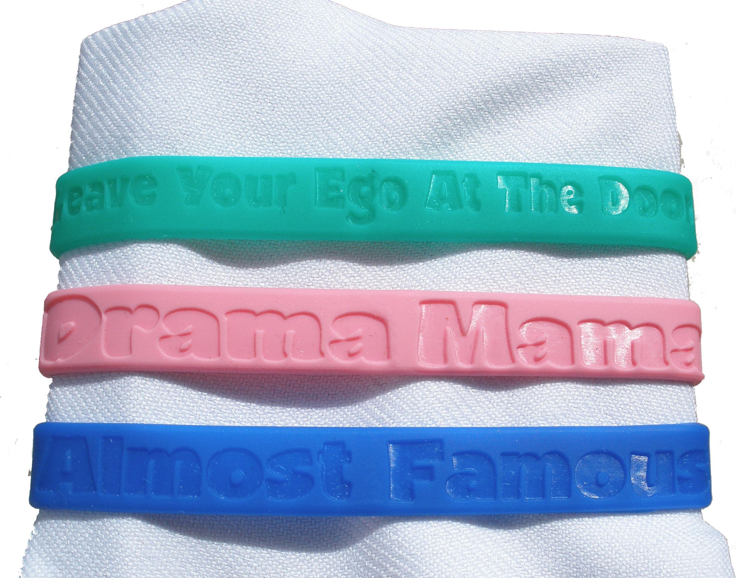 Rubber Drama Bracelets-0