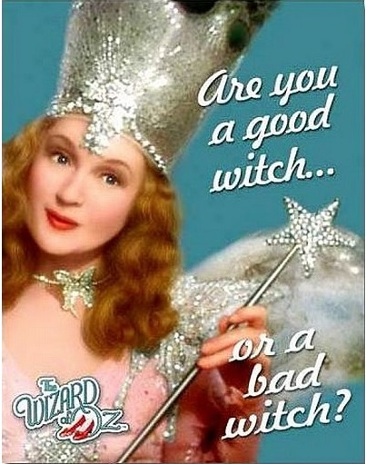 Wiz of Oz Glinda Good Witch Metal Sign-0