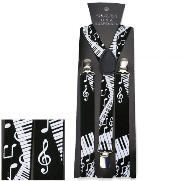 Black and White Piano Suspenders-0