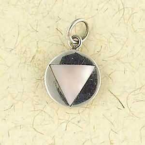 Pink Triangle Sobriety Symbol-0