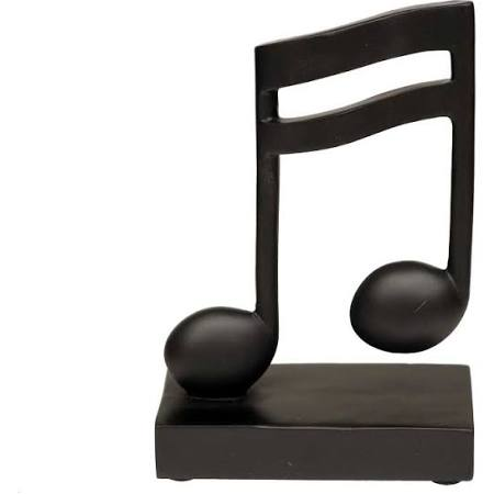 Black Double Bar Music Note -0