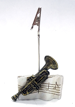 Trumpet Clip Card Holder -0