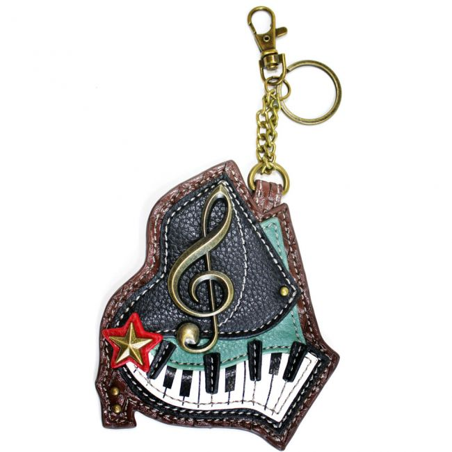 Chala - Piano - Key Fob/Coin Purse-0