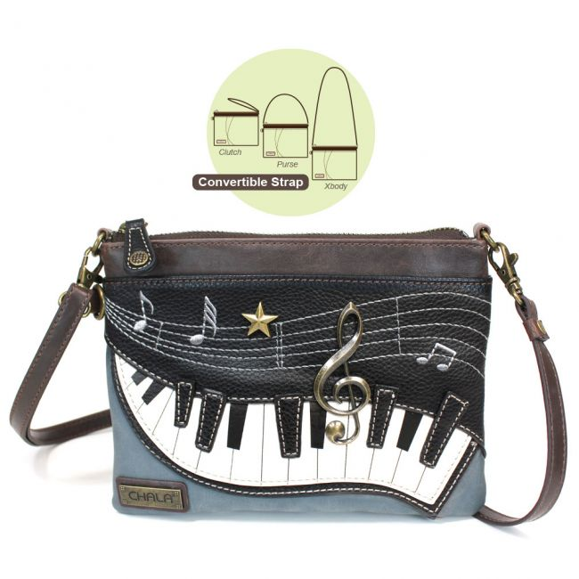 Chala - Mini Crossbody Purse - Piano-0