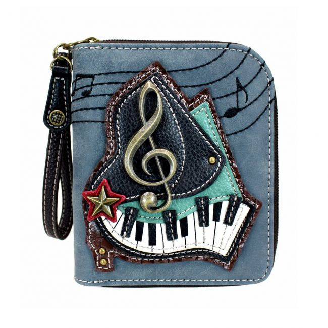 Chala - Zip Around Wallet - Piano -0