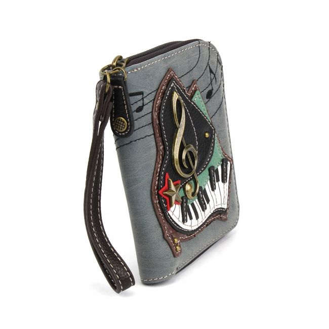Chala - Zip Around Wallet - Piano -103460