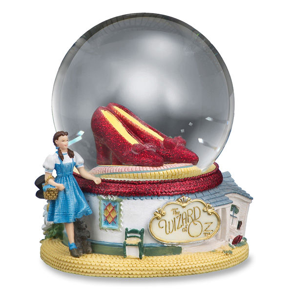 Ruby Slippers Water Globe-0