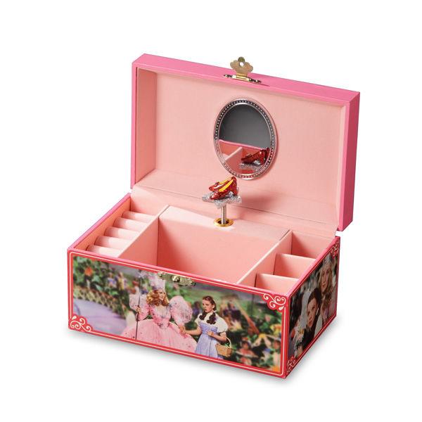 Oz Ruby Slippers Musical Jewelry Box-103308