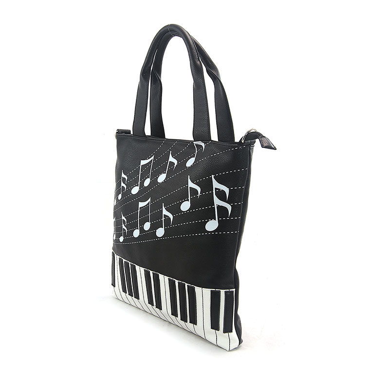 Keyboard and Music Note Tote Bag-103293