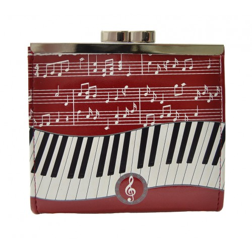 Piano Symphony Red Change Purse-0
