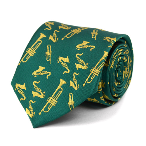 Brass Instruments Novelty Tie-103121
