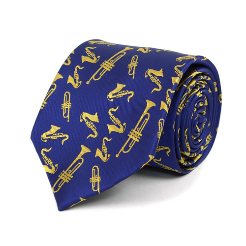 Brass Instruments Novelty Tie-103122