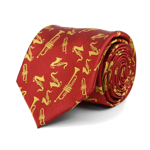Brass Instruments Novelty Tie-103118