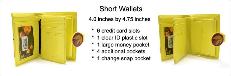 Keyboard Melody Lime Short Wallet -103169