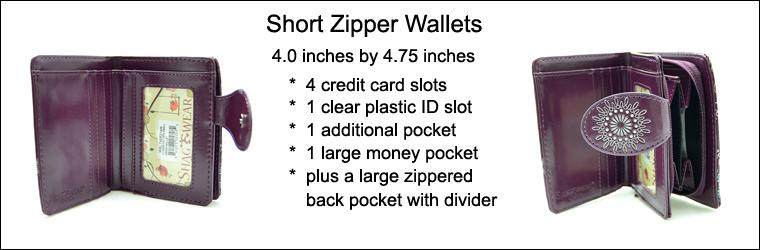 Piano Symphony Teal Short Wallet -103154