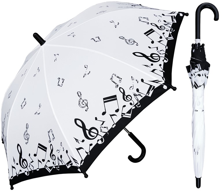 Childrens Music Print Umbrella-0