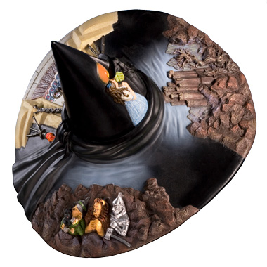Wizard of OZ Witch Hat Water Globe-103324