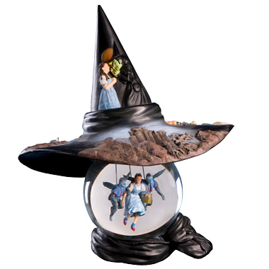 Wizard of OZ Witch Hat Water Globe-0